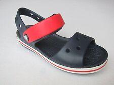 Crocs sandalen kids blau marine rot  C 12 Gr 29 crocband sandals blue red sandal