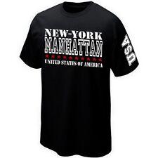 T-Shirt MANHATTAN  NEW-YORK USA ETATS UNIS - UNITED STATES - ★★★★★★