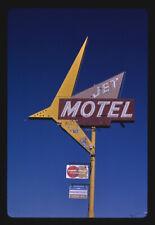 Photo Jet Motel sign B-90 Moses Lake Washington 1987 Margolies 29a