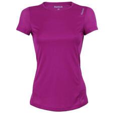 Reebok Damen Running Essentials Shirt Sportshirt Fitness Laufshirt fuchsia