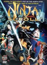 Ninja Scroll DVD (2000) Yoshiaki Kawajiri BRAND NEW SEALED FREEPOST