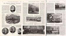 1899 BOER WAR ~ WOOLWICH ARSENAL FIRE ENGINE POLICEMEN RAILWAY MAIN GATE WORKERS