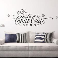 Wandtattoo Wandsticker Wandaufkleber Wohnzimmer Spruch Chill Out Lounge W817
