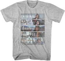 The Breakfast Club Criminal Basket Case Brain Adult T Shirt Classic Movie