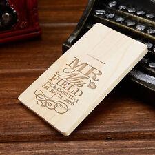 Custom Wooden Card USB Flash Drive, Pen Drive, Flash Drive, USB Stick USB 2.0
