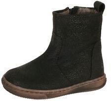 Clic! Boots Stiefeletten CL-9084 Unisex Leder Lammfell Lauflern Schuhe 21-29 Neu