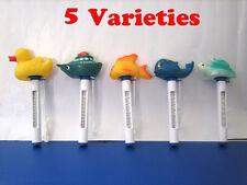 Pool Spa Hot tub Floating Animal Thermometer F/ C display w/ 5 Varieties