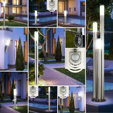LED Außen Wand Spot Steh Stand Sensor Leuchte EDELSTAHL Garten Big Light