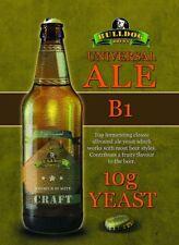 Bulldog Brew YEAST Choice Ale, English Ale, IPA, Belgian, German Lager, Europen