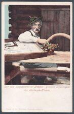 GERMANIA DEUTSCHLAND PARTNACHKLAMM Garmisch-Partenkirchen Cartolina 1900