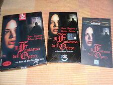 VHS il Fantasma Dell'Opera Dario e Asia ARGENTO Horror Orrore + Box ElleU Unità