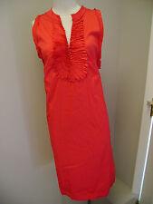 Alfani Bungalow Dress w/Ruffle Deep V-Neck NWT $99