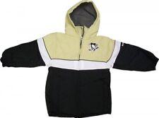 Pittsburgh Penguins Reebok NHL Toddler Full-Zip Winter Jacket