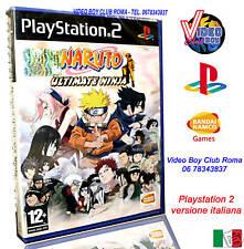 NARUTO ULTIMATE NINJA GIOCO NUOVO PER SONY PLAYSTATION 2 PS2 EDIZIONE ITALIANA