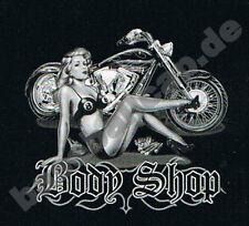 T-Shirt #286 Body Shop, Biker, Dragster, Pin Up, Trucker, USA, Route 66