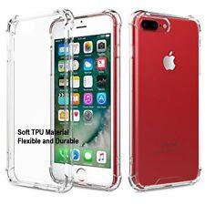 iphone 7 7 plus TPU crystal clear transparent soft Ultra thin gel case shockprof