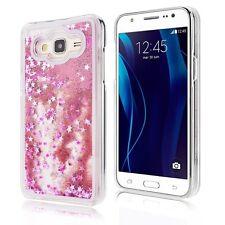 Pour Samsung Coque Rigide avec Liquides Sable Mouvant Étoiles Paillettes