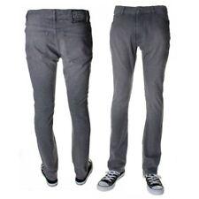 Volcom Men's Activist Light Grey Jeans Activist Fit Casual