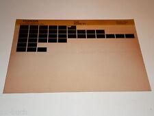 Microfich Ersatzteilkatalog Honda EZ 90 Stand 03/1990