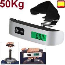 Bascula peso balanza digital lcd 50KG para ir de pesca caza equipaje maletas