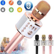 Q37 Wireless Karaoke Microphone USB KTV Player Bluetooth Mic HIFI Speaker Home