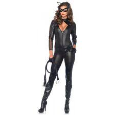 Cat Woman Costume Adult Superhero Catsuit Halloween Fancy Dress
