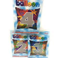 Pallone Numero Foil Quadrato 45cm da 0 a 9 1pz