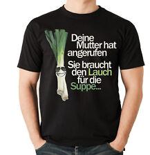 T-shirt Porro madre zuppa chiamare Lustiger Porro frase Fun siviwonder