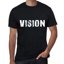 vision Uomo Maglietta Nero Regalo Di Compleanno 00546