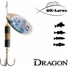"Dragon cm-Classic Spinner 12-23 Predator Tackle ""esche morbide Jig Heads ABU Reflex"