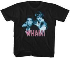 Wham! Blue & Pink Duo Photo Youth T Shirt 2T-YXL Pop Music
