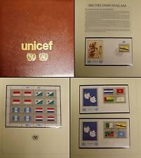 UNO NY Flaggen 1989 Kleinbögen, FDC, Herzstücke imAlbum