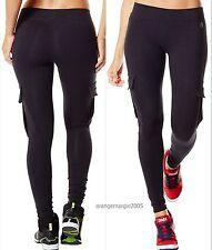ZUMBA FITNESS ~Shake N Break CARGO LEGGINGS w Z-Dri™ SLIMMING ~Yoga CrossFit S M