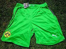 Fc Borussia Dortmund GK pantaloncini corti PUMA per uomini/Uomo S-L BVB Verde