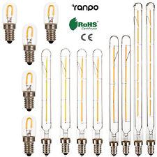 vintage rétro filament EDISON AMPOULES LED E14 T20 3W 4W 6W Lampe 220V