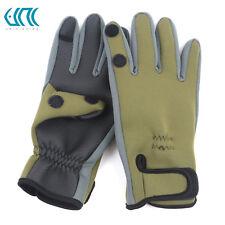 Unifishing 1 Pair Neoprene Fishing Gloves Waterproof Anti-Slip Fishing Gloves