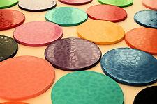 Dishwasher safe coasters. Round. Many colours. Multi packs. intech gecko
