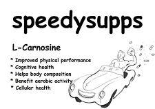 L-Carnosine powder cognitive health improved physical performance carnosine