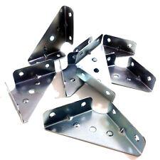 X 50mm x 50mm, esquina Fuelle, ángulo de soporte, Muebles Flat Pack BZP Hafele