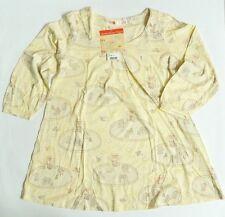UNIQLO WOMEN DISNEY Dream Project 3/4 Sleeve T-Shirt Yellow (074444)