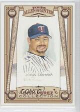 2006 Topps Allen & Ginter's The Dick Perez Collection #17 Johan Santana Card