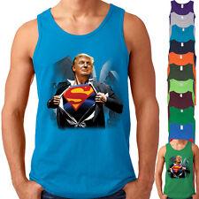Super Donald Trump Man TANK TOP For President Make America Great Again Mens Tank