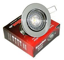 GU10 Einbaustrahler Downlights Tom DIMMBAR 230V A+ LED-Strahler 230V 5W=50Watt