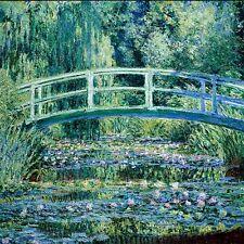 Monet, ponte giapponese, fino a dimensioni 100x100cm