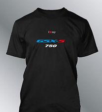 Tee shirt personnalise GSXS 750 S M L XL XXL homme col rond moto GSX-S