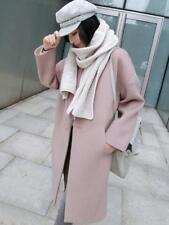 Korean Winter  Women Thicken Wool Parka Trench Coat Long Jacket Warm Overcoat cc