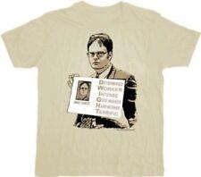 The Office D.W.I.G.H.T. Tan T-shirt