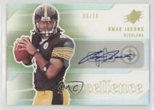 2006 SPx #SP-OJ Omar Jacobs Pittsburgh Steelers Rookie Football Card