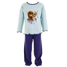 NEUF filles FROZEN ANNA ELSA Pyjama 18mth - 5 ans Expédition Rapide 1st classe