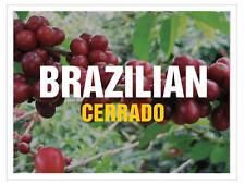 Up To 100 lbs Brazil Cerrado Arabica - natural 17/18 screen Green Coffee Beans